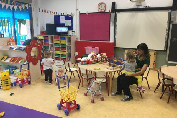 Conselleria d'Educació baixarà la ràtio per aula en Infantil de 3 anys