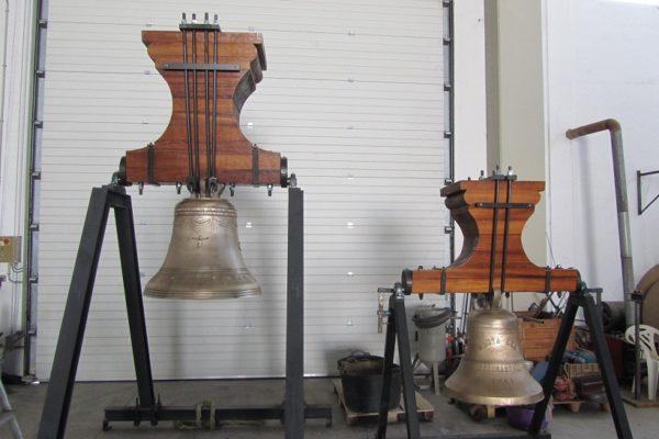 Benimarfull restaura campanes de la parròquia