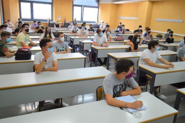 Els estudiants del Campus d'Alcoi de la Universitat Politècnica de València (UPV) han començat el curs 2020/2021