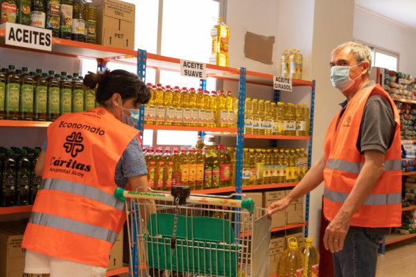 El Farolet Solidari en San Roc a benefici de Cáritas