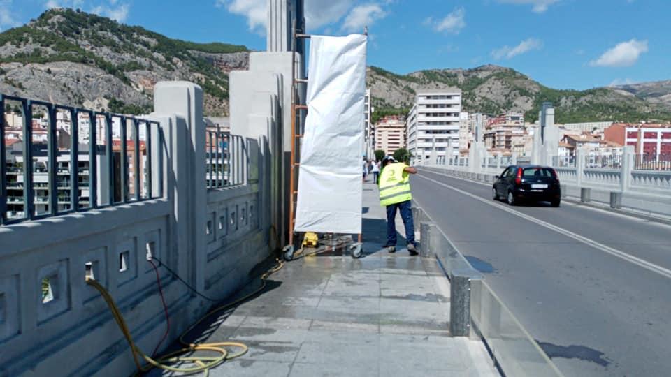 Mantenimiento puente San Jorge