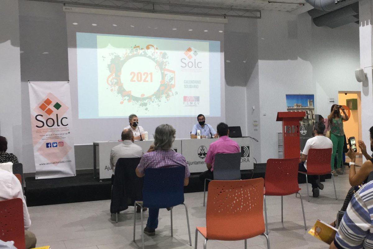 Presentación calendario SOLC 2021 en el Ágora