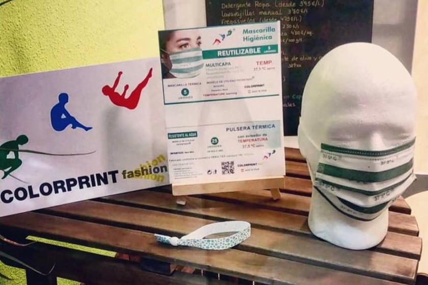 A la venda les màscares que detecten la temperatura