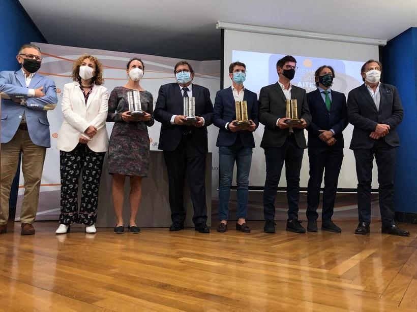 Lliurament dels premis innovació i sostenibilitat AITEX