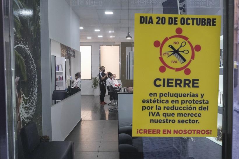Ciudadanos insiste en bajar el IVA en peluquerías