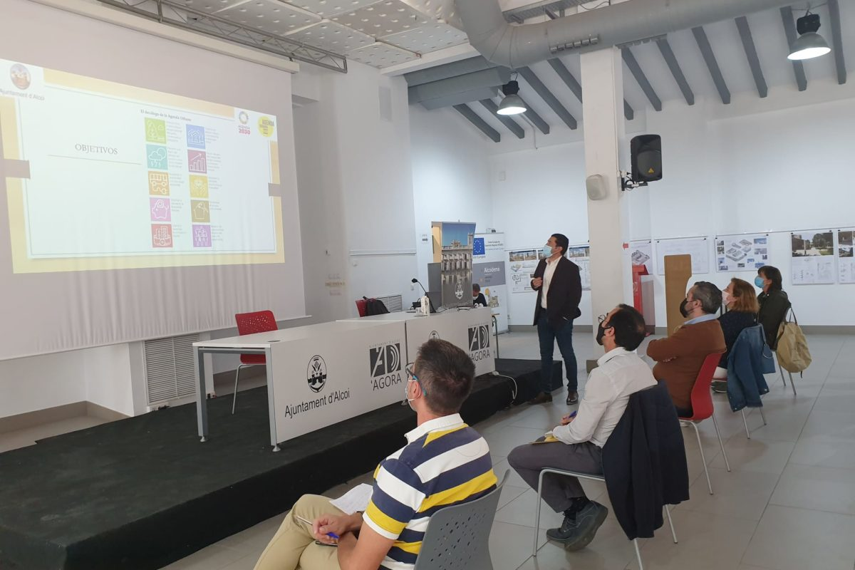 Alcoi treballa en l'agenda 2030 dins de la 'Xarxa d'Entitats Locals'