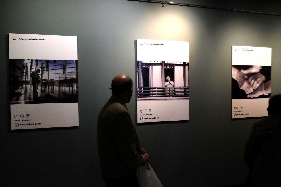 Exposició del 59é Saló Local AFA en el Centre Comercial Alzamora