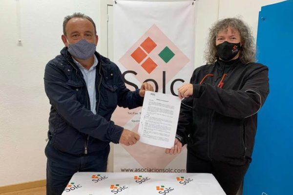 Col·laboració entre Solc i Fundació Mutua Levante
