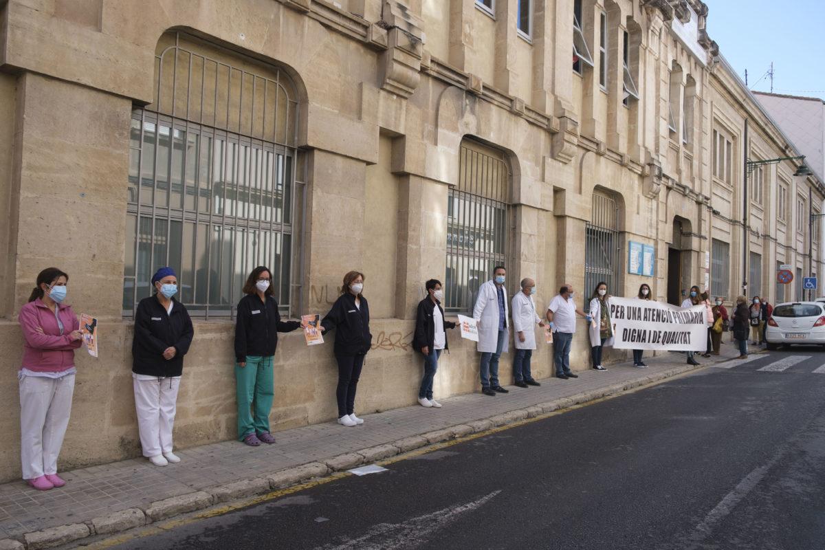 Els metges d'Alcoi se sumen a la vaga per l'atenció primària