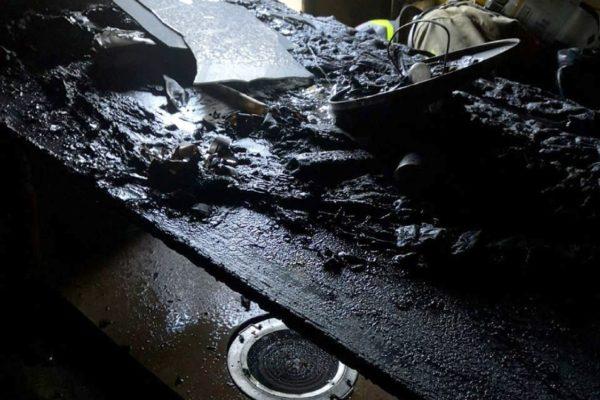 Una mujer fallece en un incendio en la calle San Vicente de Alcoy