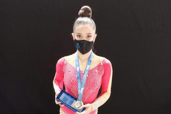 La gimnasta Rocío García, plata en el Nacional Base
