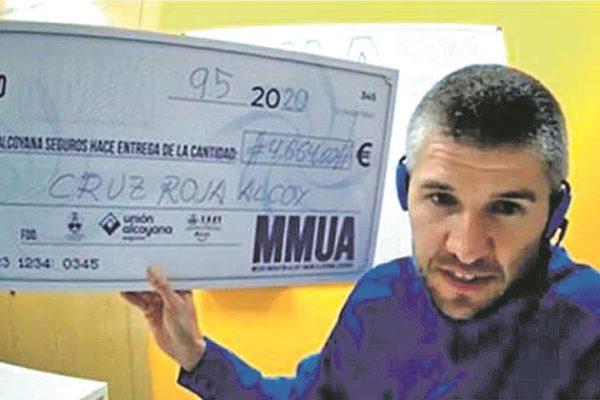 La 9.5MMA recapta 4.664 euros per a Creu Roja