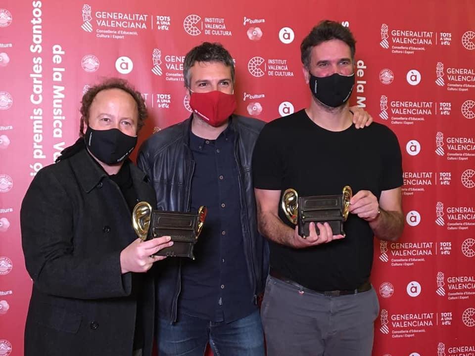 Andreu Valor triunfa en los premios musicales Carles Santos