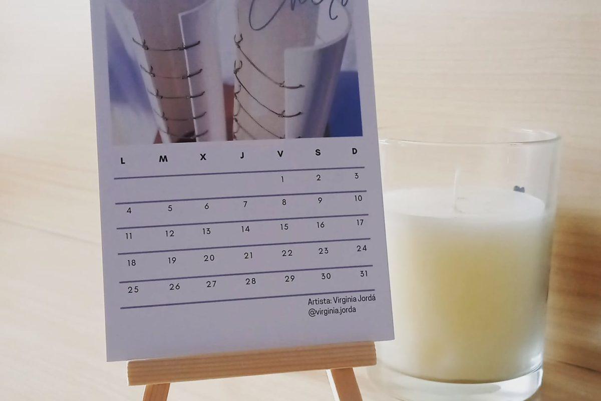 Calendario benéfico de Mulier y Lanza-Marketing para ti