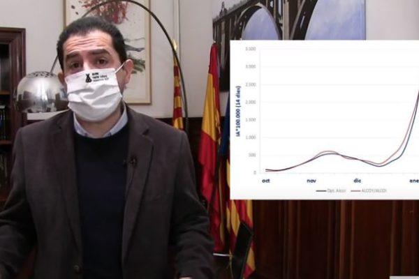 Toni Francés es refereix a la situació de la pandèmia