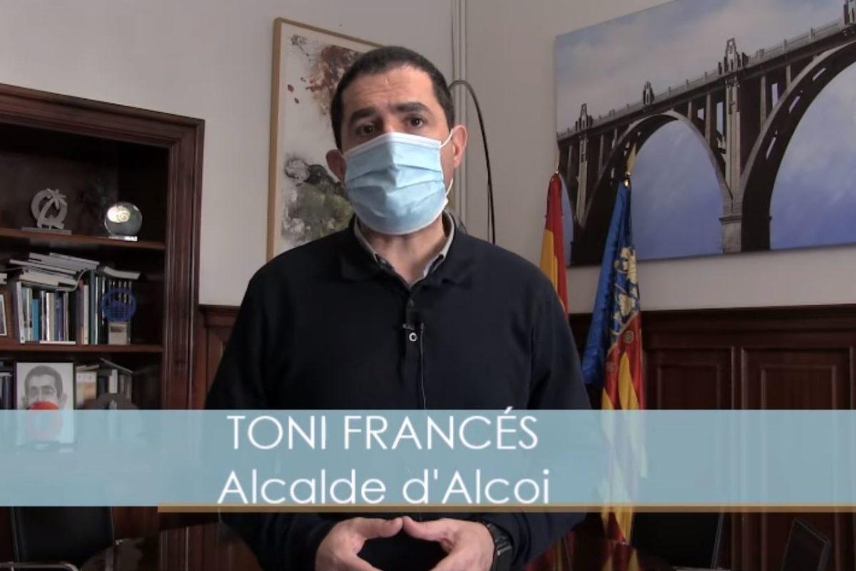Alcoi supera els 1.800 casos de covid per 100.000 habitants