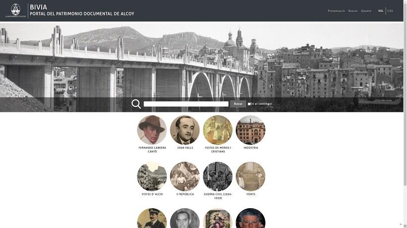 El portal documental BIVIA duplica sus consultas
