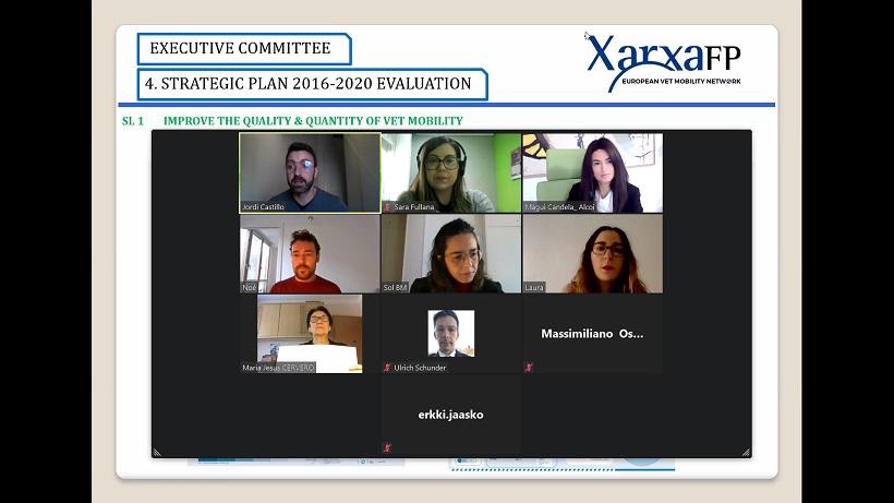 Alcoy participa en el XLII Comité Ejecutivo de Xarxa FP