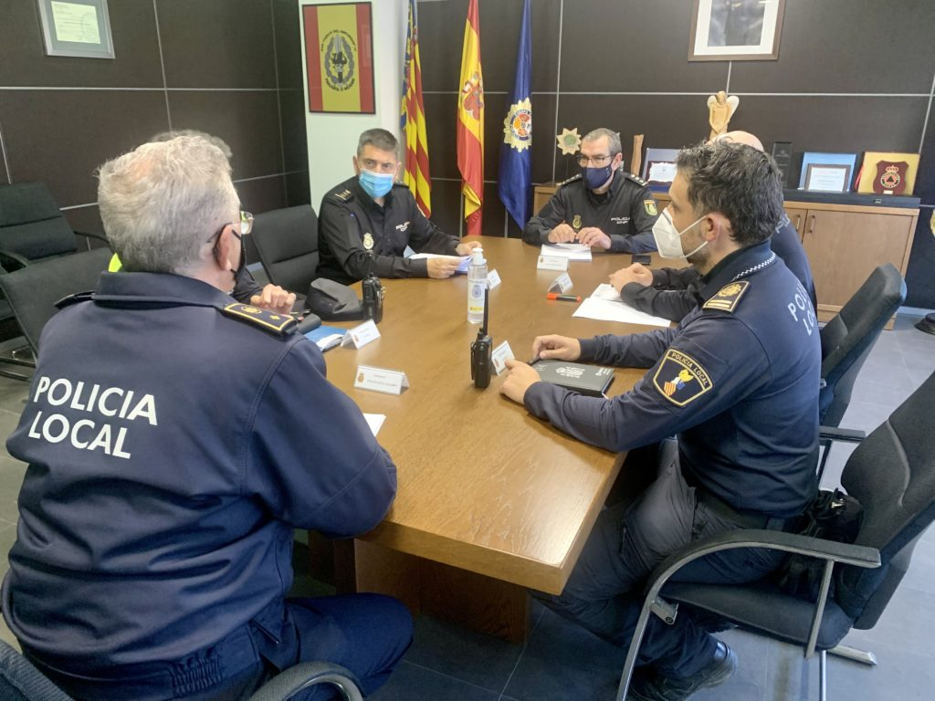 La Policía Nacional prepara el dispositivo especial para el cierre perimetral