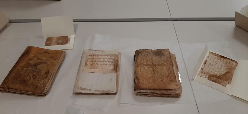 Els llibres de Corts de Justícia del segle XIII apleguen restaurats a Cocentaina