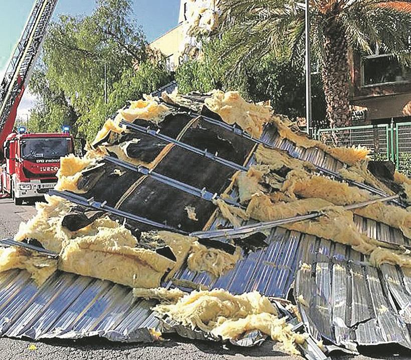 Incidents a la comarca per vents de més de 100 km/h