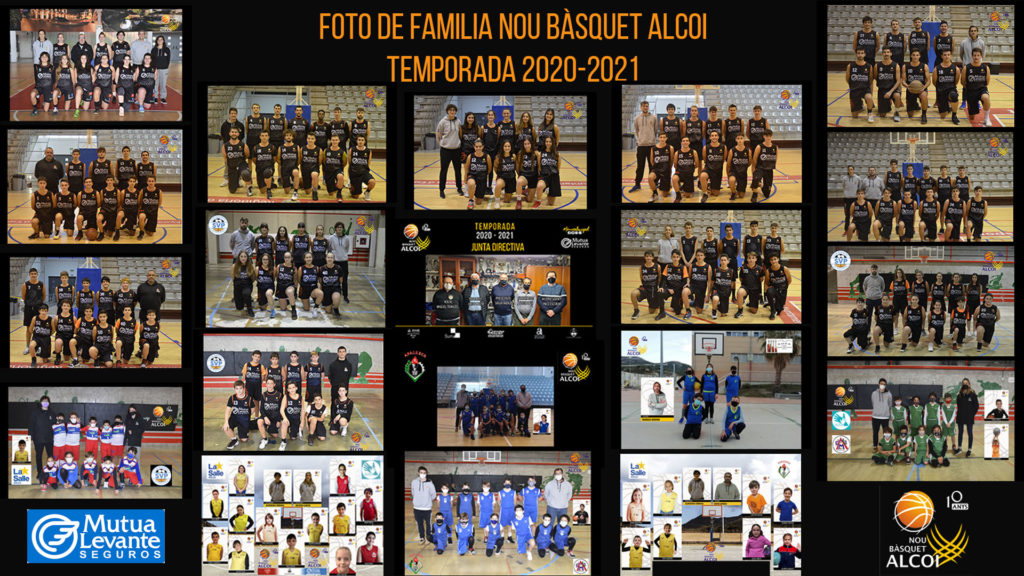 El Mutua Levante NB Alcoi presenta sus equipos online