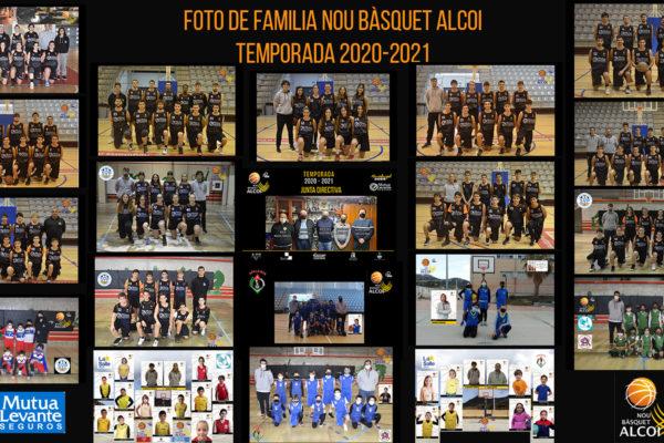 El Mutua Levante NB Alcoi presenta els seus equips online