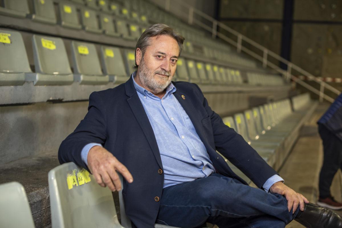 """Andrés Hernández: """"El mèrit del Alcodiam és que base de l'equip és d'ací"""""""