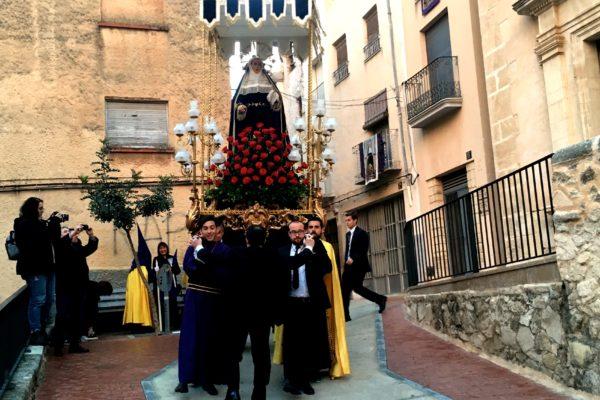 La Cofradía de la Dolorosa coordinará la Semana Santa de Cocentaina
