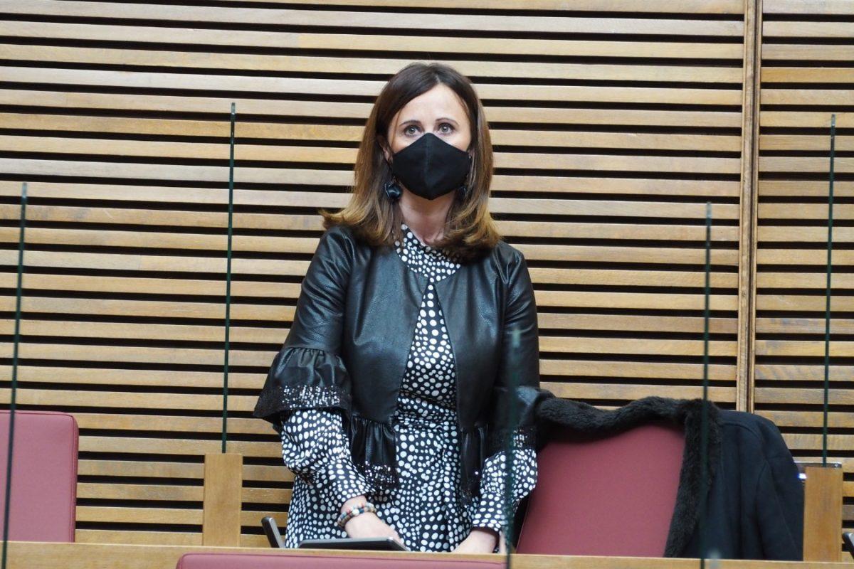 Aroa Mira pren possessió com a diputada en Les Corts