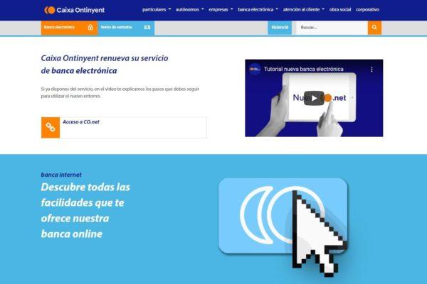 Incrementa l'ús de la banca en línia en Caixa Ontinyent