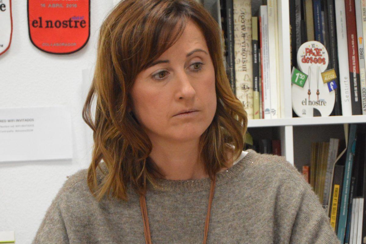 """Aroa Mira: """"Vull ser l'altaveu en Les Corts d'aquesta comarca"""""""