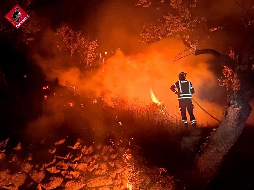 Los bomberos realizaron 22 actuaciones diarias en 2020