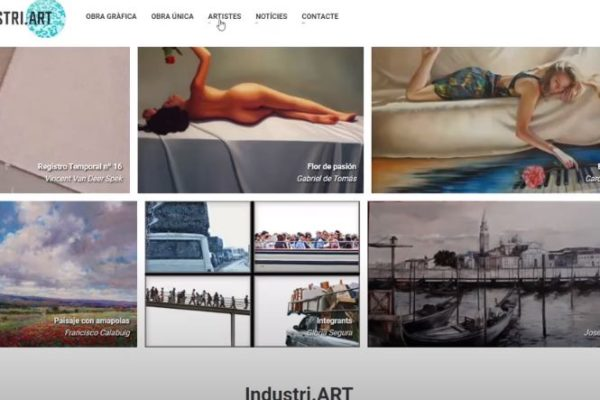 El Ayuntamiento presenta la web Industri.Art