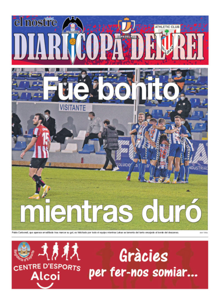 Diario Copa del Rey Athletic Club