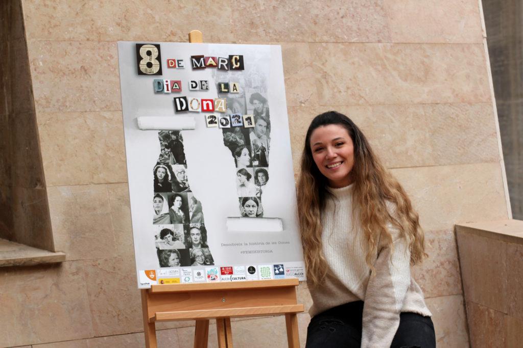 Denise Llorens, ganadora del concurso de carteles