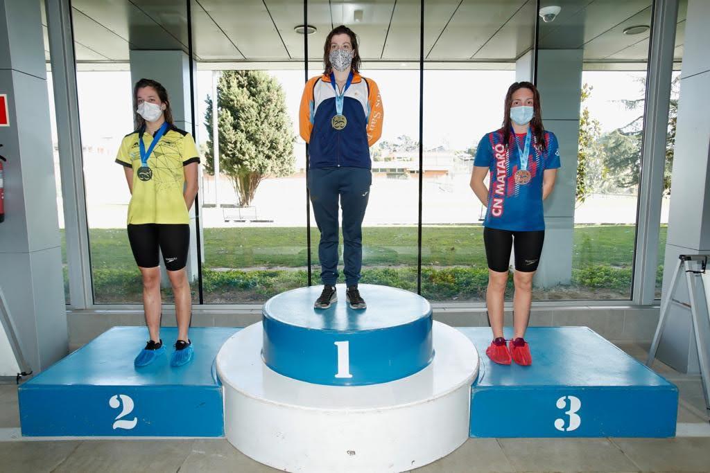 Mariló Martí, bronze en el Nacional de natació