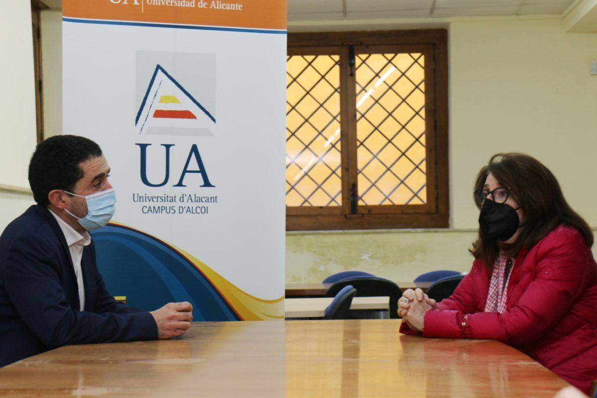 Primera visita al Campus de la UA