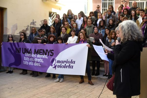 Mariola Violeta crida a celebrar el 8-M de manera virtual