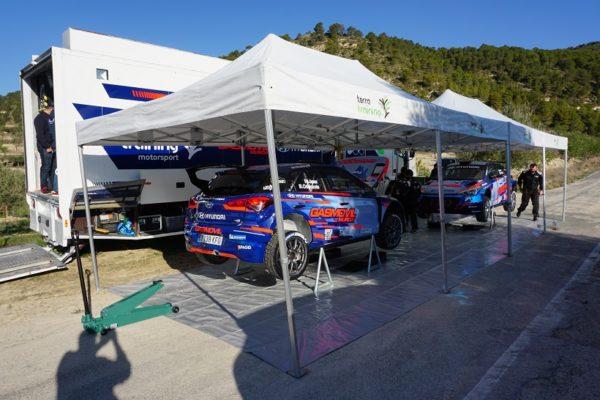 Rallyes: la comarca, banc de proves