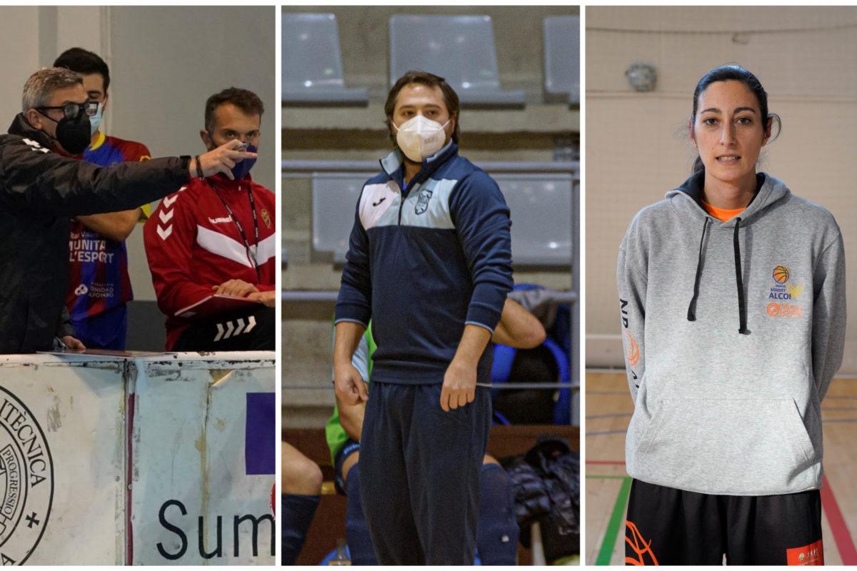 Tres tècnics locals lideren el bon moment de tres equips