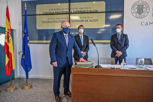 Pablo Andrés Bernabeu Soler és el nou director de l'Escola Politècnica Superior d'Alcoi