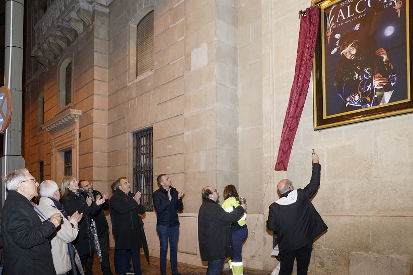 Santa María acull l'inici dels actes de Setmana Santa a Alcoi