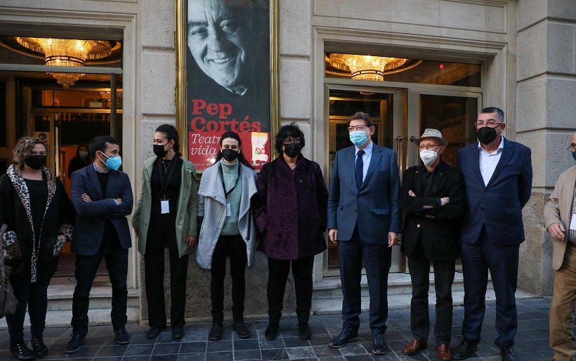 Homenatge a Pep Cortés amb motiu del Dia Mundial del Teatre