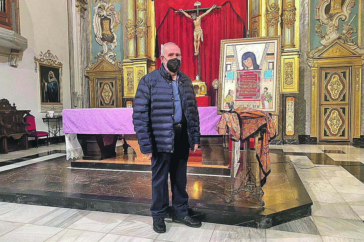 Francisco Prats crea el cartell de les Festes de la Mare de Déu