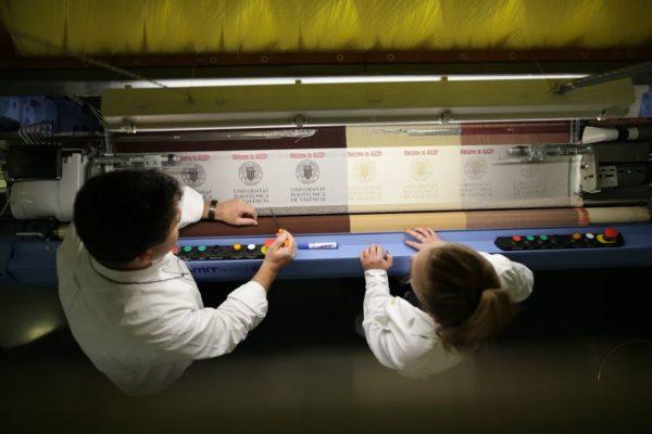 Ateval i el Campus d'Alcoi de la UPV volen potenciar el coneixement del sector tèxtil