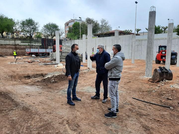 Comencen les obres en el CEIP Pla i Beltrán d'Ibi