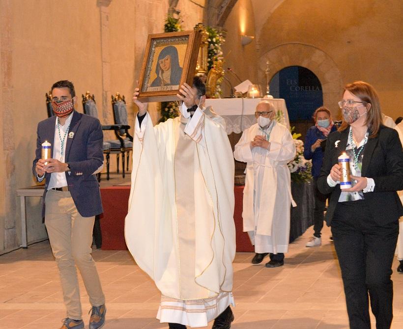 Hoy se inaugura el monumento de Moisés Gil dedicado a la patrona