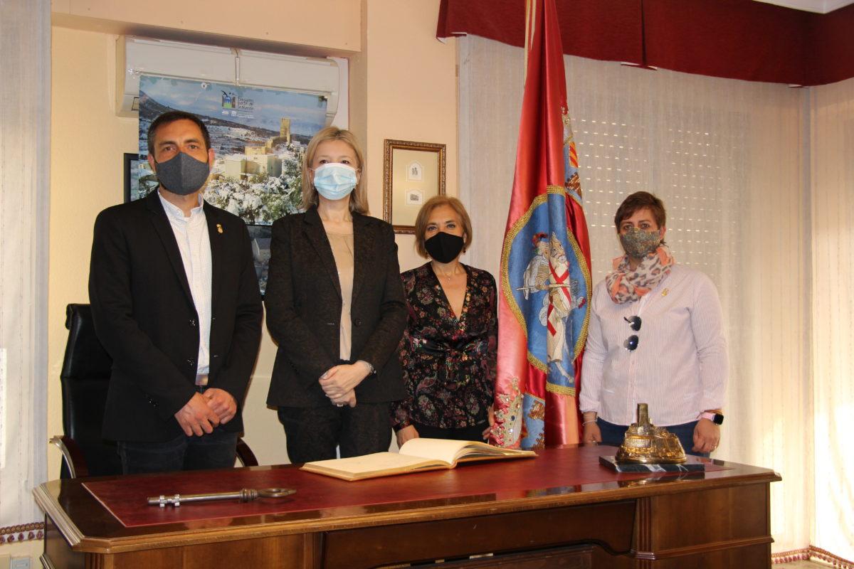 Visita de la Embajadora de Bosnia-Herzegovina