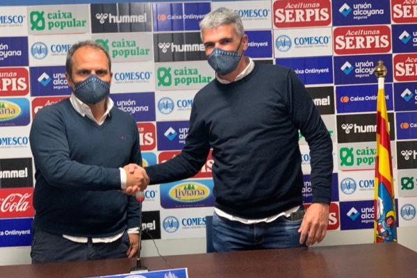 El Alcoyano renova a Vicente Parras com a entrenador
